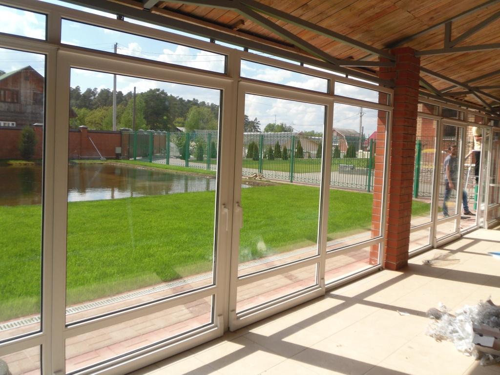 Заказать панорамные металлопластиковые окна в Херсоне ЕВРО ОКНА