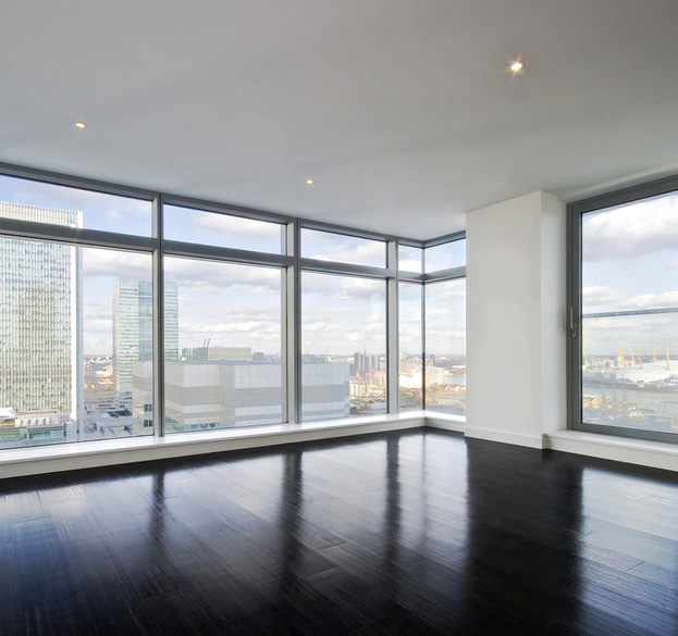 Структурные алюминиевые окна