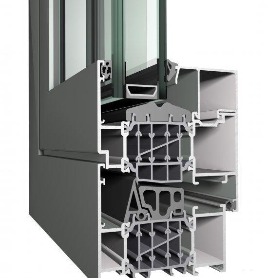 Алюминиевые окна Reynaers CS 86-HI
