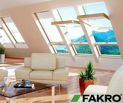 Мансардные окна «Факро»
