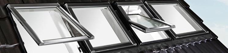 Мансардные алюминиевые окна