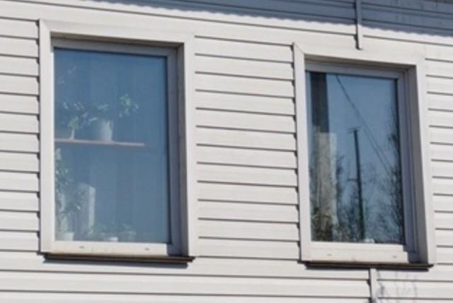 Глухие алюминиевые окна
